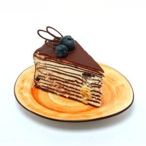Блинный торт c ягодами