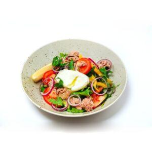 Салат пашот с тунцом
